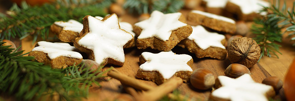 Gluten-Free Cinnamon Star Cookies With Prebiotic Fiber