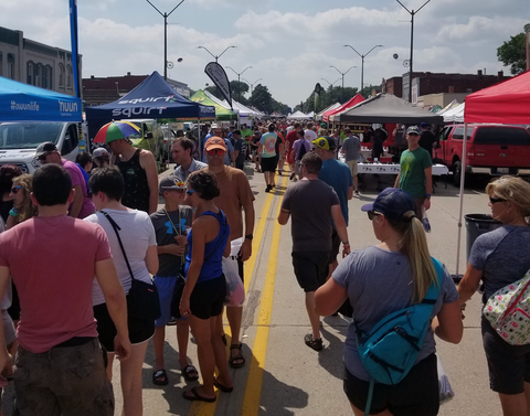 RAGBRAI Expo in Onawa