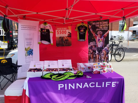 Pinnaclife Exhibit at RAGBRAI in Onawa