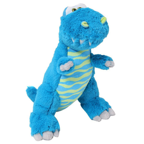 "Dinosaur 13"" Blue Green Stuffed Animal"