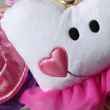 Tooth Fairy Princess Doll PIllow
