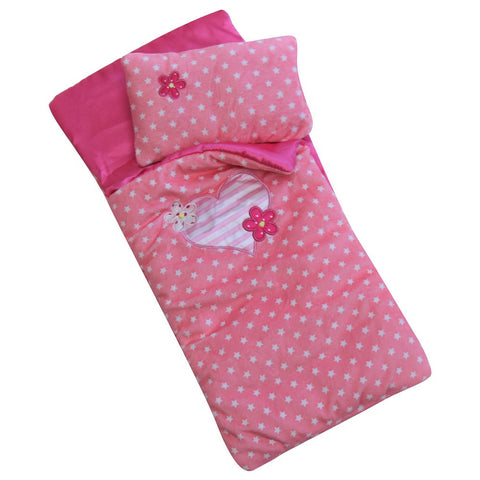 "18"" Doll Slumber Sleeping Bag, Pink"