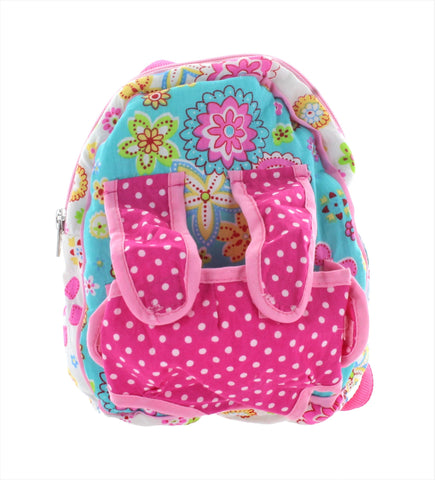 Patchwork Pink Doll Backpack