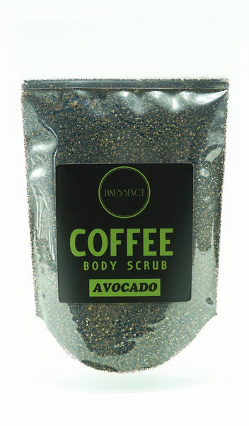 Avocado Coffee Body Scrub 250g