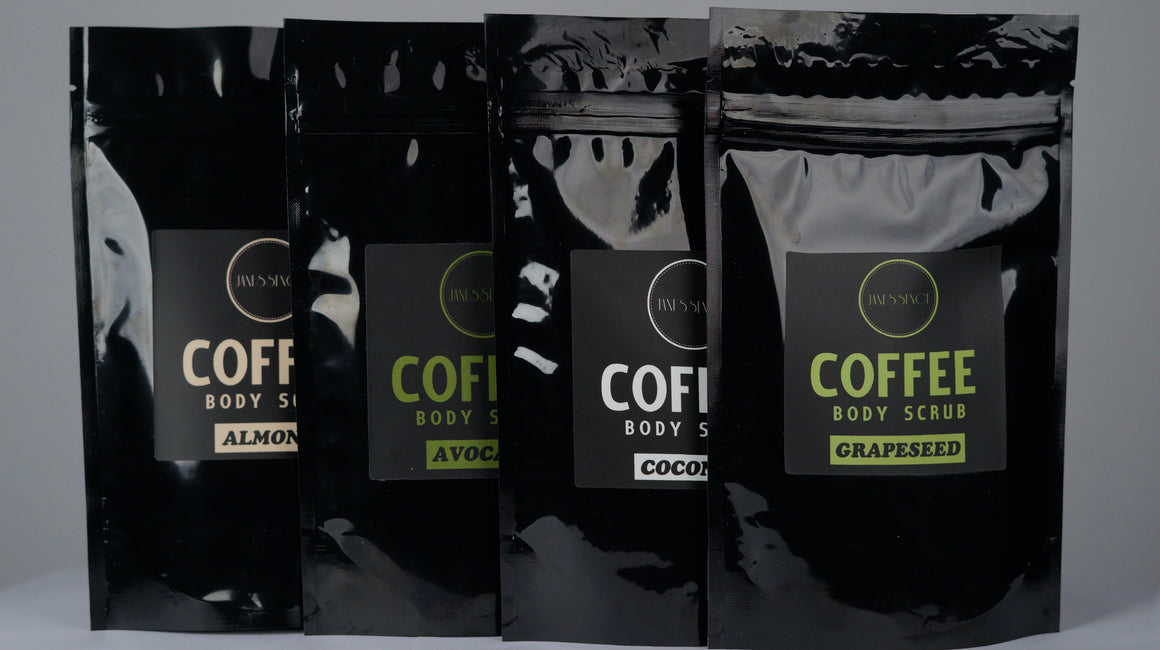 Original 4 Coffee Body Scrub Set 150g