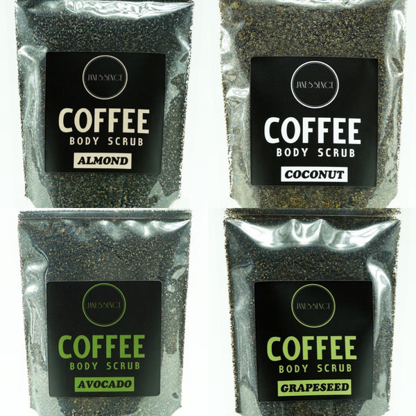 Complete 4 Coffee Scrub Original Set 250g/each