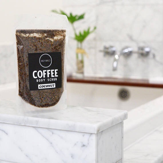 Coconut Coffee Body Scrub 250g