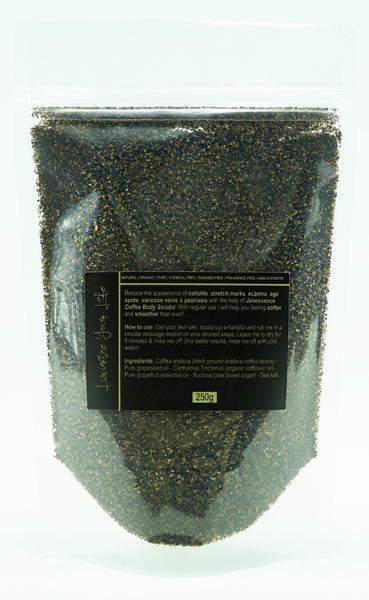 Grapeseed Coffee Scrub 250g