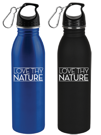 Love Thy Nature - Stainless Steel Water Bottle