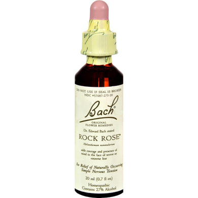 Bach Flower Remedies Essence Rock Rose - 0.7 Fl Oz