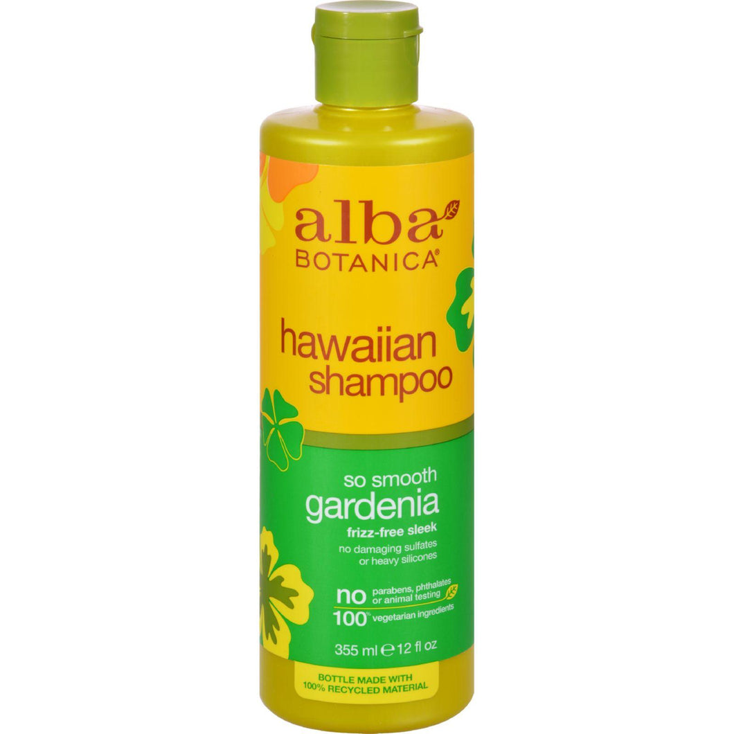Alba Botanica Hawaiian Hair Wash Hydrating Gardenia - 12 Fl Oz