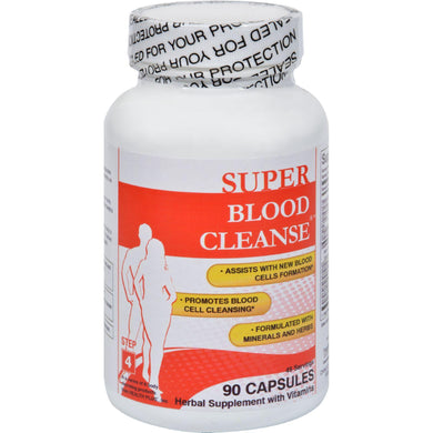 Health Plus Blood Cleanse - 90 Capsules