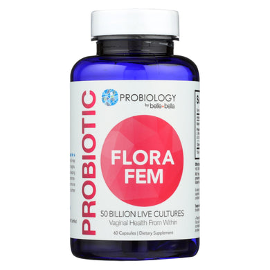 Belle And Bella - Probiotic Flora Fem - 60 Capsules