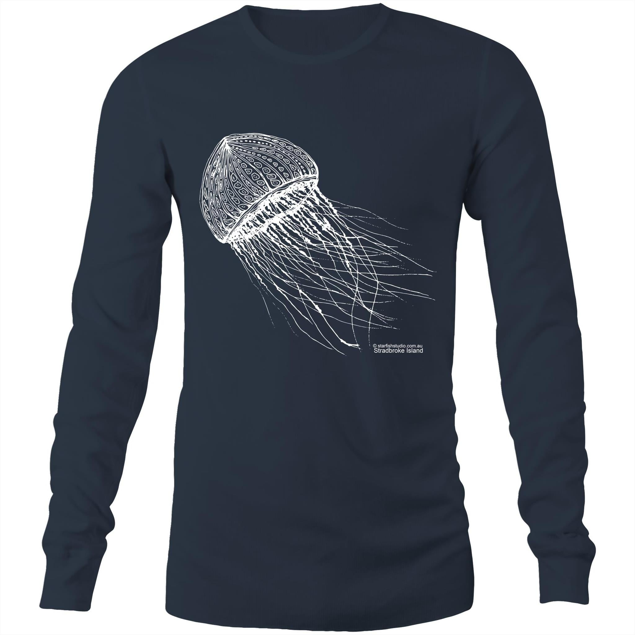 CUSTOM Unisex JELLYFISH -  Long Sleeve T-Shirt