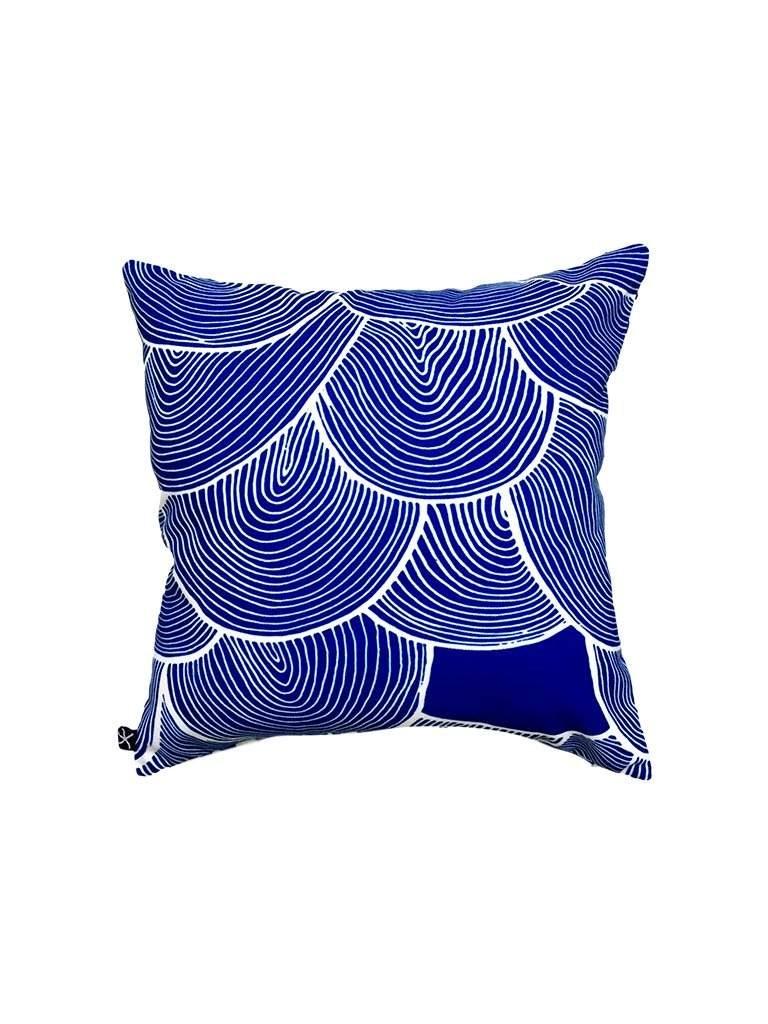 large Scales and Shoal, Santorini SCATTER CUSHION CANVAS