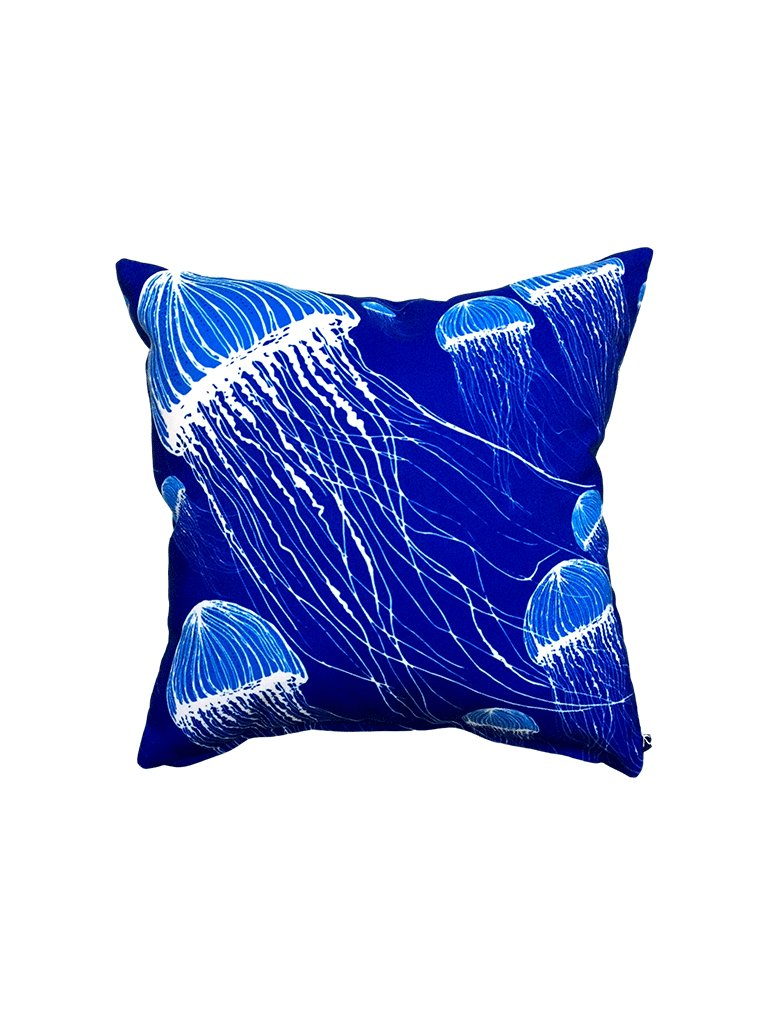 large Jellyfish, Santorini  SCATTER CUSHION CANVAS