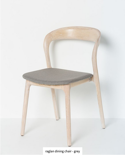 Papaya at Starfish Studio. Raglan dining chair