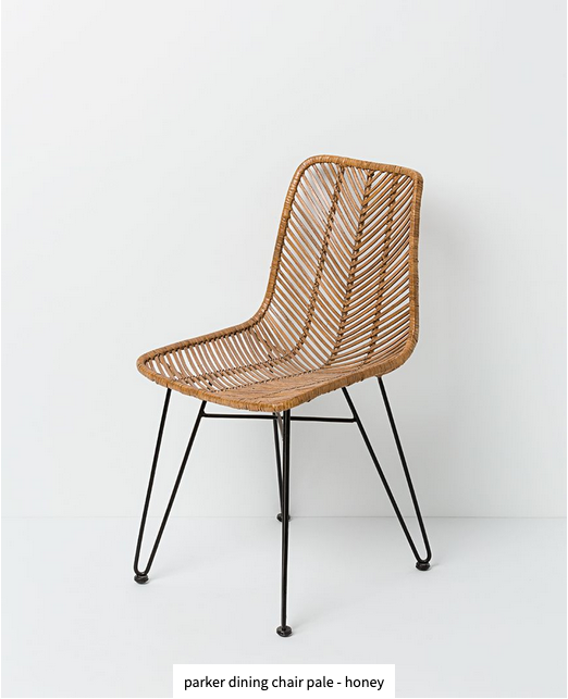 Papaya at Starfish Studio. Parker dining chair