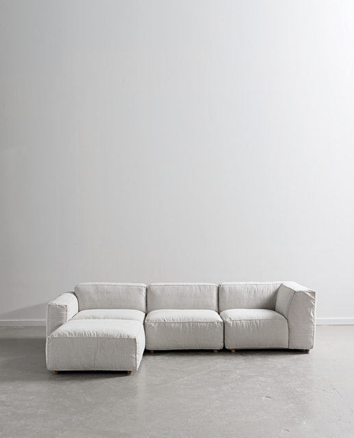 Papaya at Starfish Studio. Hudson modula sofa,pearl