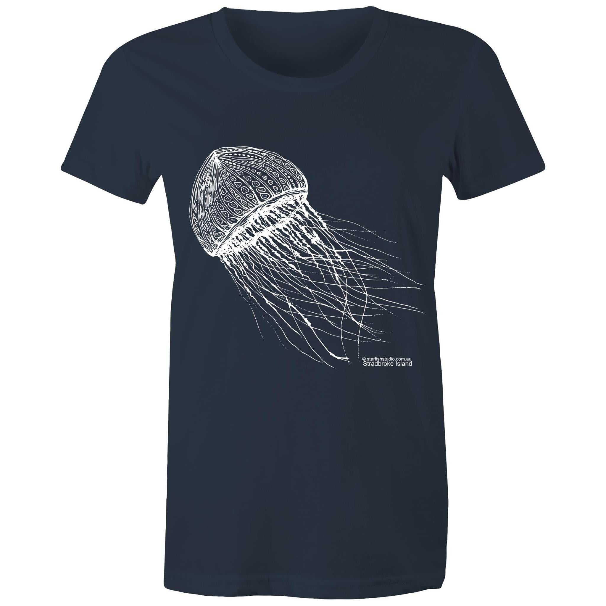 CUSTOM Ladies SINGLE JELLYFISH T shirtSportage Surf - Womens T-shirt
