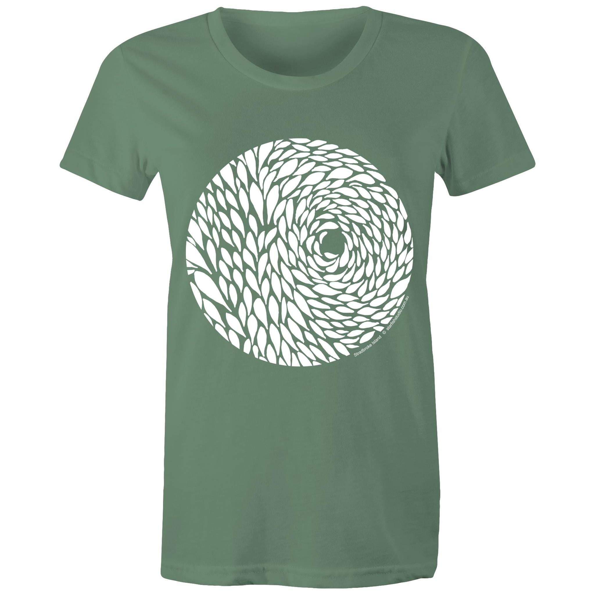 CUSTOM Ladies BAIT BALL T shirt AS Colour - Women's Maple Tee