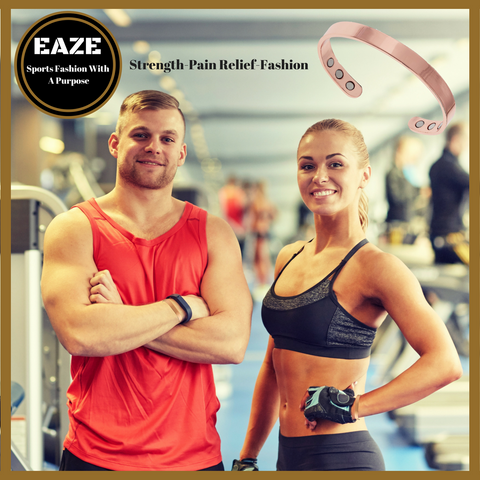 Pure Copper Magnetic Sports Bracelet for Recovery and Injury Relief