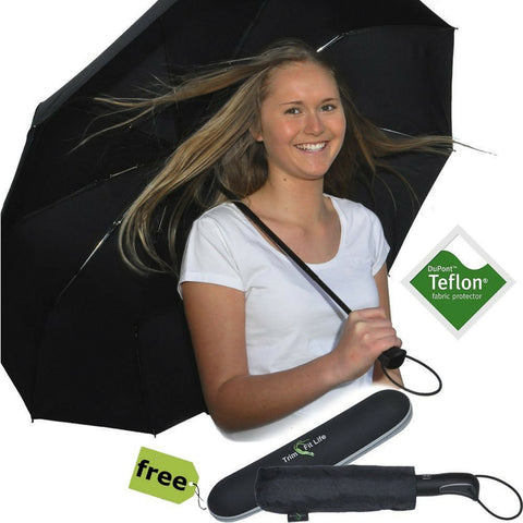 PhlipUp- Auto Open & Close Travel Umbrella