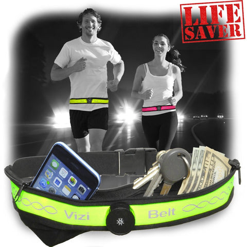 Vizi Belt - LED Light Running Belt