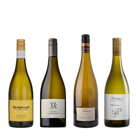 Chardonnays of New Zealand <br> - 4 bottles
