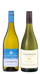 Xmas Bundle <br> 2016 Clifford Bay Pinot Gris and 2015 Goldwater Pinot Gris