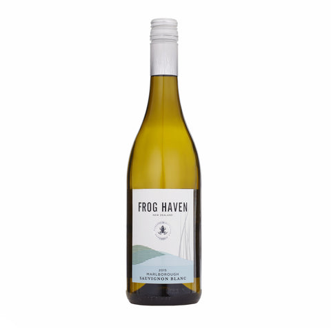 Frog Haven Sauvignon Blanc 2015 - 12 bottles