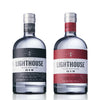 1 x Lighthouse Gin Original 700ml 42% 1 x Lighthouse Gin Hawthorn Edition Navy Strength 57%