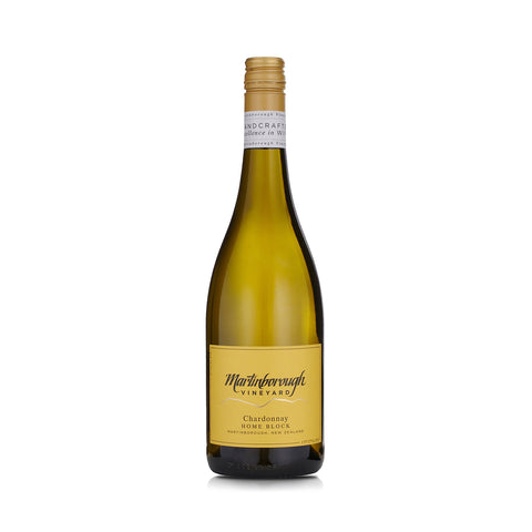 Martinborough Vineyard <br> 2017 Home Block Chardonnay - 6 Bottles