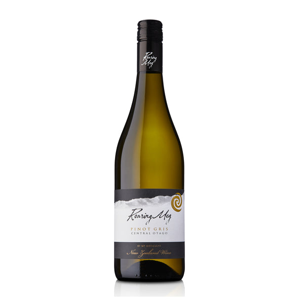 Roaring Meg Pinot Gris Mt Difficulty Wine of New Zealand bottle