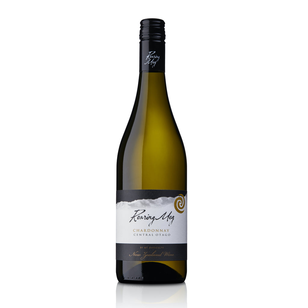 Roaring Meg Chardonnay 2019 bottle shot