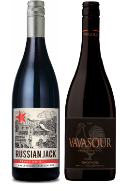 Martinborough Vineyard Russian Jack Pinot Noir 2014 <br> Vavasour Pinot Noir 2013