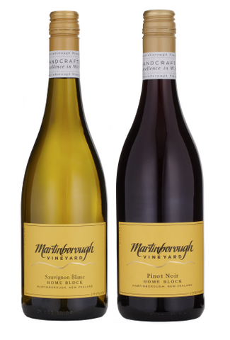 Martinborough Vineyard Hero Duo <br> Martinborough Vineyard Pinot Noir 2013, Martinborough Vineyard Sauvignon Blanc 2016