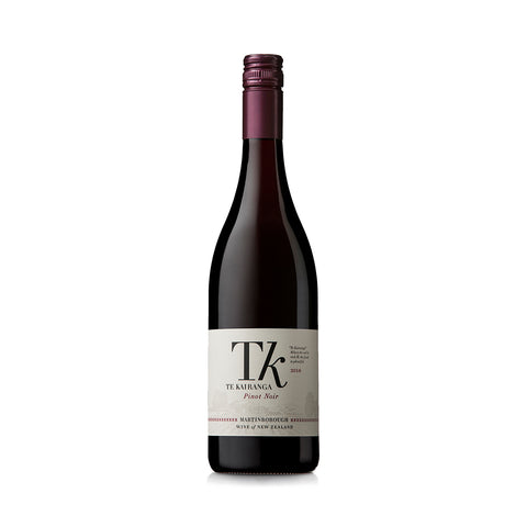 Te Kairanga Estate <br> 2016 Pinot Noir - 6 Bottles