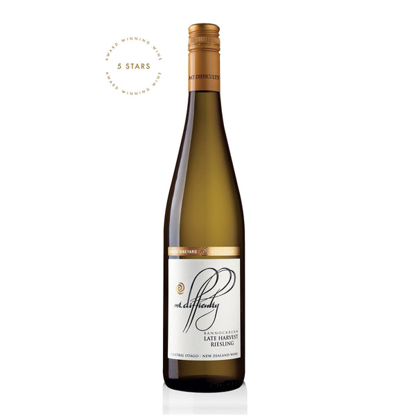 Mt Difficulty Long Gully Late Harvest Riesling 2016