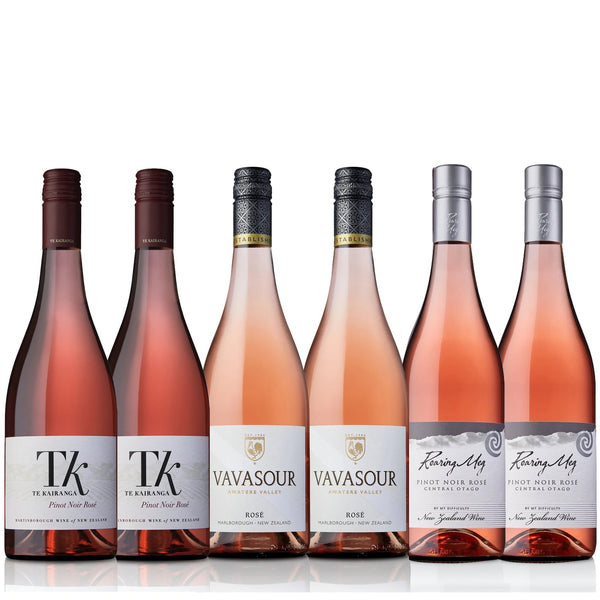 ROSÉS OF NEW ZEALAND mixed wine CASE
