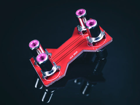 Rigid Y cross connect v2 (for Schiit Stack) [DISCONTINUED]