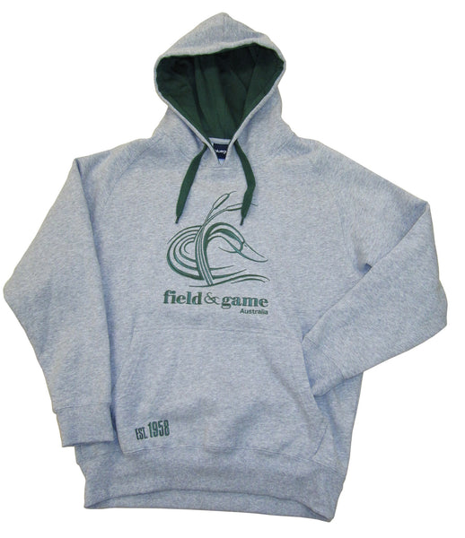 Windcheater with embroidered FGA logo and hood