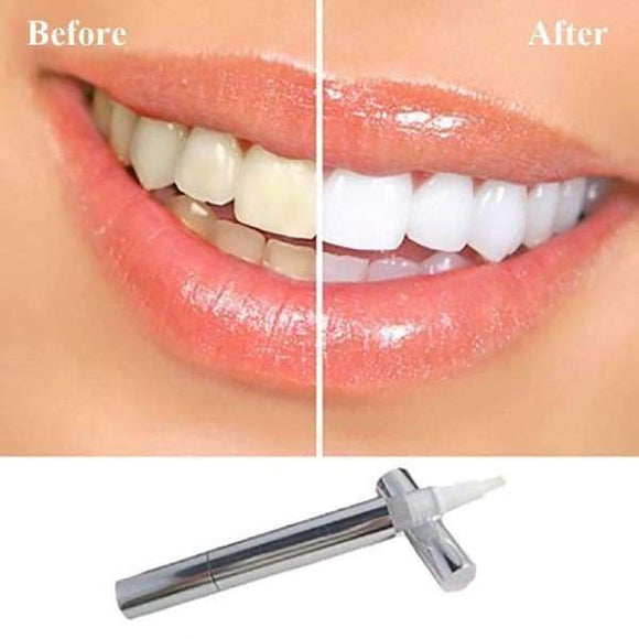 1 Pc Gel Bleach Dental Stain Remover Brighten Teeth Whitening Pen Oral Care Tool - Instant Essentials
