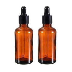 15 ML Amber Glass Dropper Bottle (2-Pack) - Instant Essentials