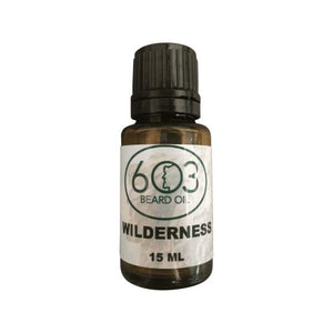 603 Wilderness Beard Oil - Woodsy Goodness - Instant Essentials