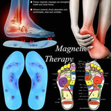 Blue Magnetic Massage Insole Foot Care - Instant Essentials