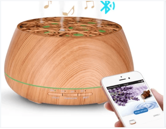 Bluetooth Speaker Aroma Essential Oil Diffuser - Instant Essentials