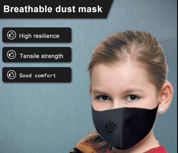 Child Mouth Mask Dust-proof Respirator - Instant Essentials