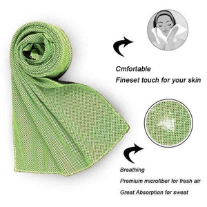 Cooling Towel Sports Towel Instant Cooling - Instant Essentials