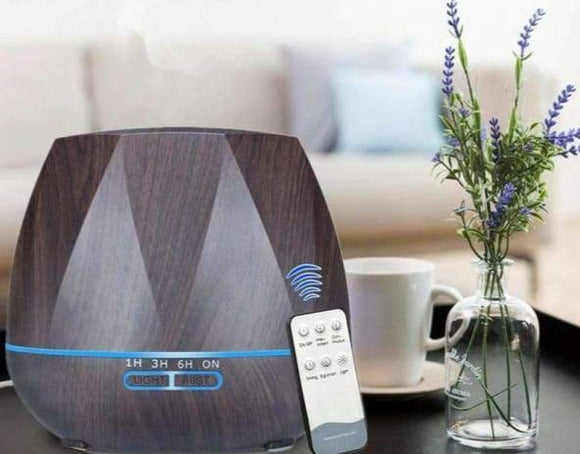 Diffuser 500ML Remote Control Air Humidifier - Instant Essentials